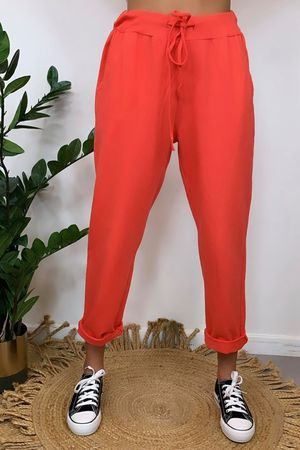 The Basic Crop Jogger Melon