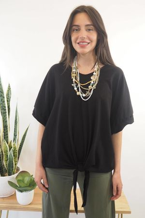The Basic Knot Top Black