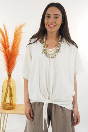 The Basic Knot Top Warm White