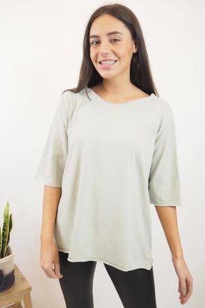 The Basic Tee Taupe