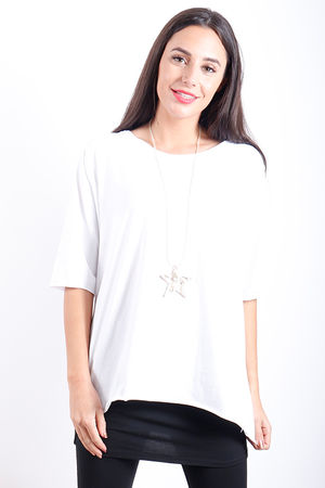 The Basic Tee White