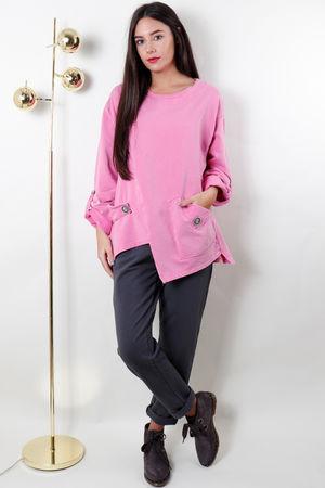 The Benji B Soft Neon Pink