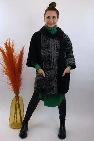 The Benji Flock Jacket Black
