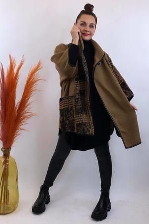 The Benji Flock Jacket Camel