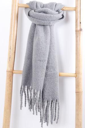 The Blanky Scarf Grey
