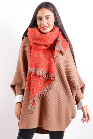 The Boucle Scarf Fire