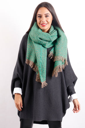 The Boucle Scarf Jade