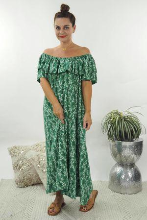 The Brigitte Bardot Maxi Dress Plant