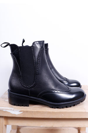 The Brogue Boot Black