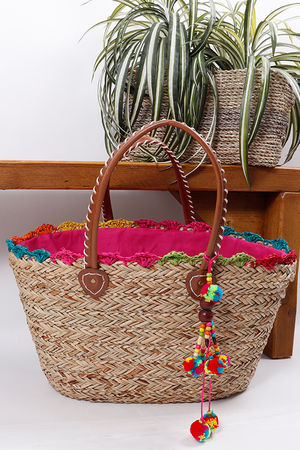 The Cabo Basket Bag