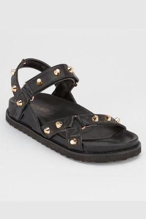 The Centurion Stud Sandal Black