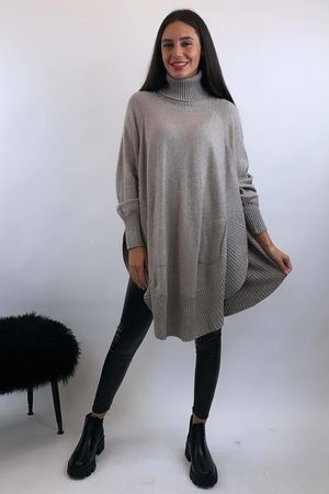 The Charli Circle Knit Oatmeal