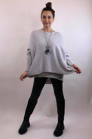 The Charli Grunge Knit Dove