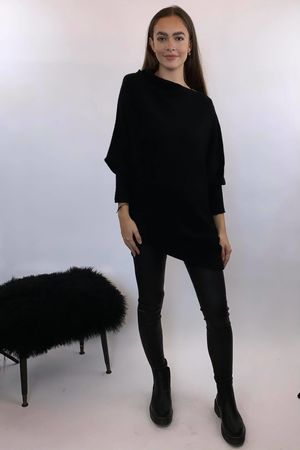 The Charli Huggle Knit Black