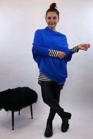 The Charli Huggle Knit Cobalt Blue