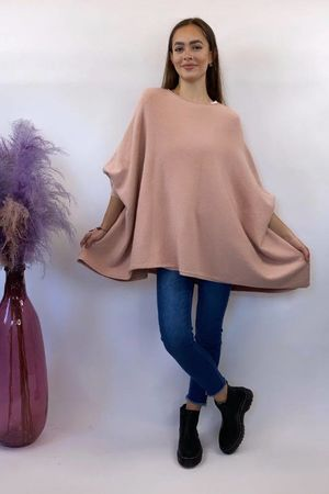 The Charli Oversized Slouchy Knit Blush
