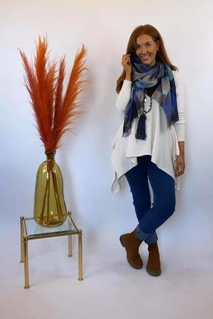 The Charli Parachute Knit Warm White