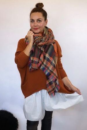 Super Scotch Scarf Pumkin