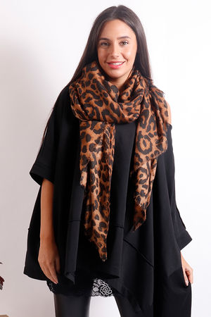 The Classic Leopard Scarf