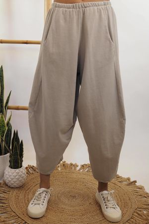 The Cocoon Relaxed Sweat Pant Stone