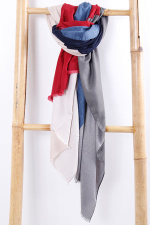 The Colour Block Scarf
