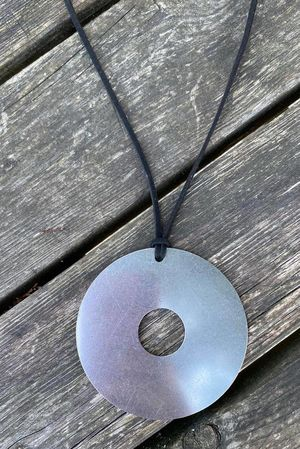 The Coz Disc Necklace