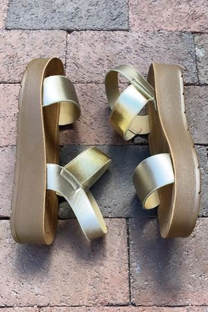 The Coz Sandal Gold