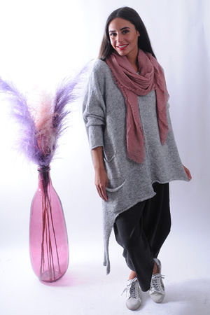The Dip Side Softie Knit Grey