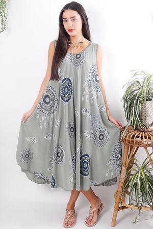 The Dreamy Dress Soft Khaki