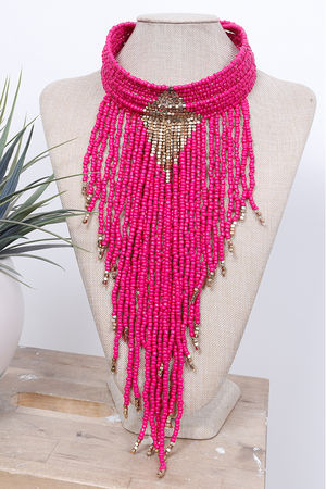 The Eivissa Collar Pink