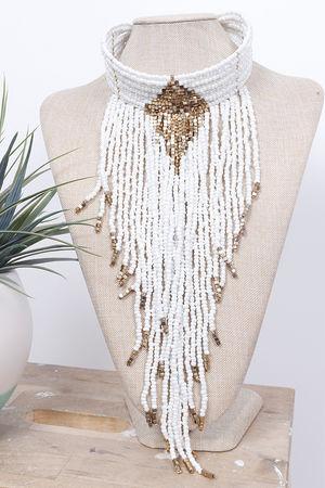 The Eivissa Collar White
