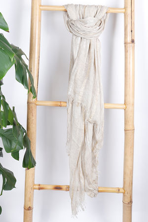 The Eivissa Scarf Neutral