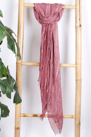 The Eivissa Scarf Raspberry