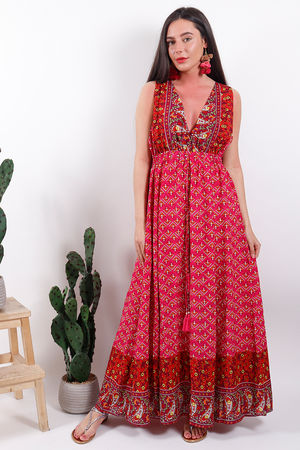 The Eivissa Talamaca Dress
