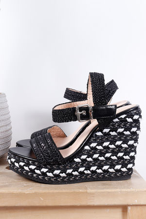 The Eivissa Wedge Black
