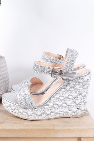 The Eivissa Wedge Silver