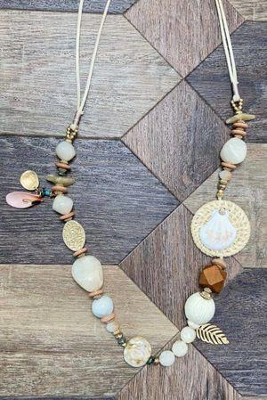 The Fiji Necklace Neutrals