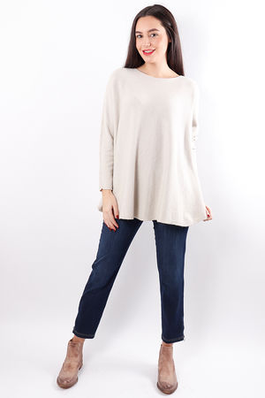 The Flirty Knit Cream