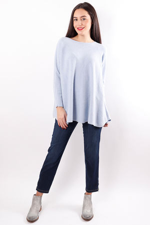 The Flirty Knit Periwinkle