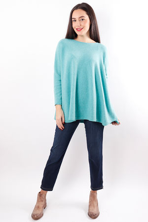 The Flirty Knit Sea Green