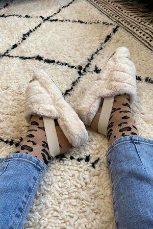The Foot Huggs Ecru