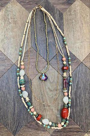 The Formentera Necklace Neutrals