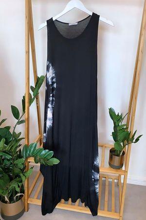 The Fossil Long Parachute Dress Black