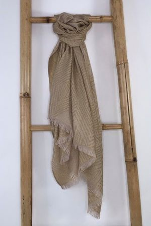 The Gatsby Scarf Gold