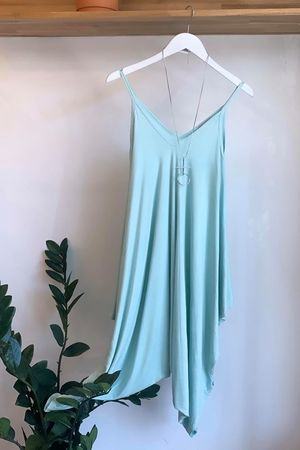 The Genie Jumpsuit Mint
