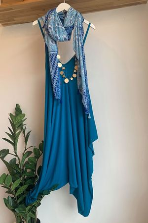 The Genie Jumpsuit Teal