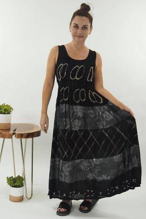 The Goa Dress Hoopla Graphite