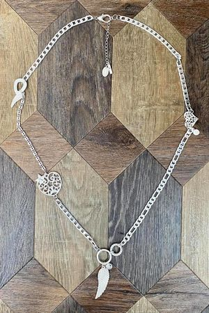 The Guardian Angel Necklace Silver