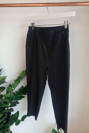 The Hepburn Double Dot Pant