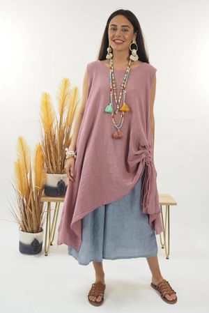 The Hitchcock Dress Indian Pink